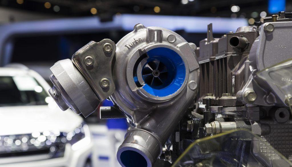 Detail of Diesel Engine